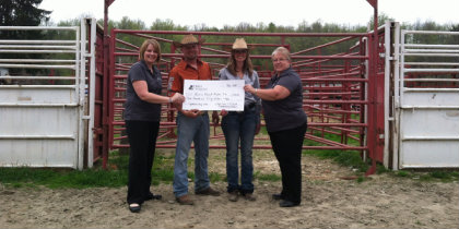 Donation to Reese Ranch Rodeo